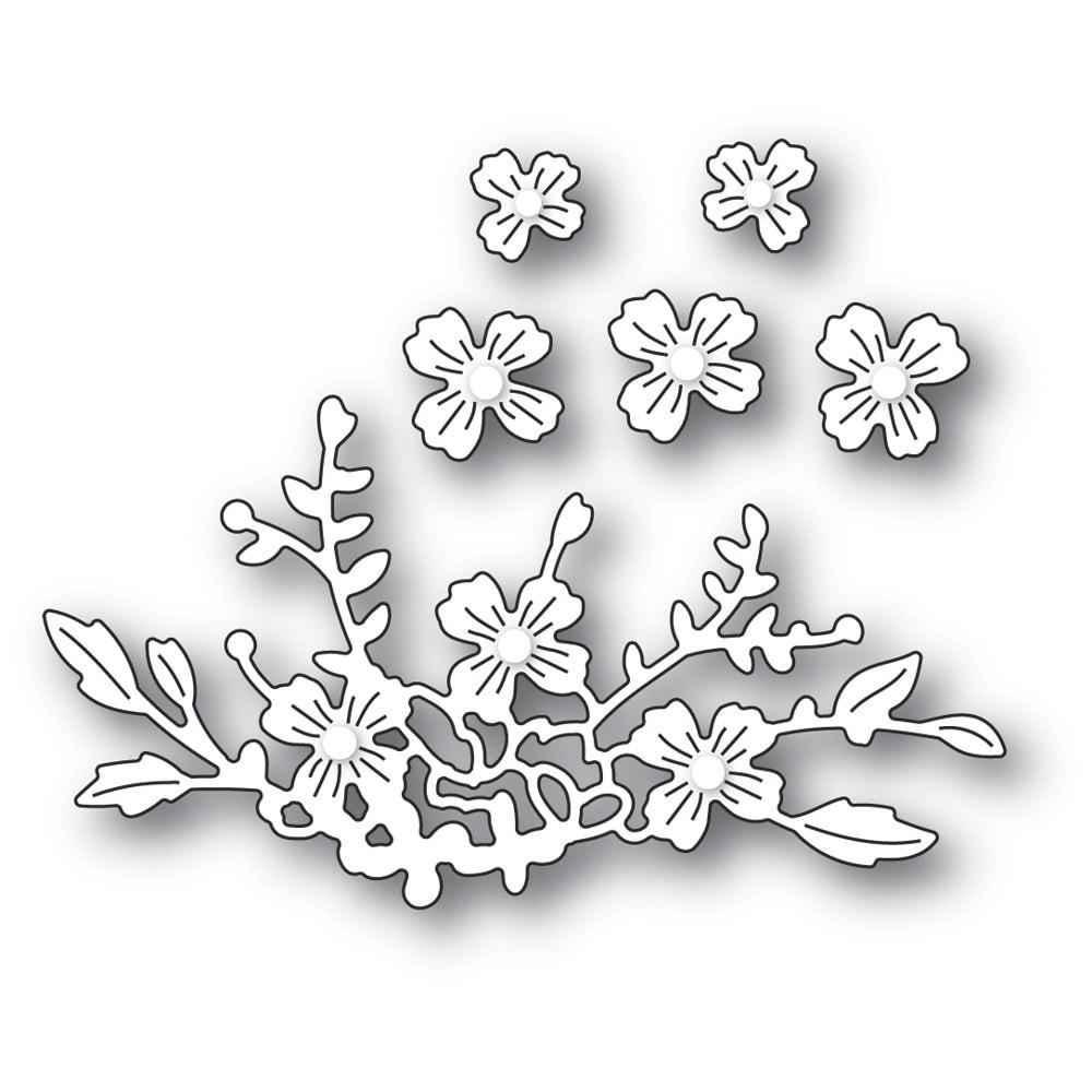 Poppystamps Floral Cluster 2338