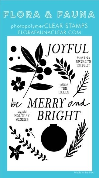 Flora and Fauna Merry and Bright Ornament Set 20340