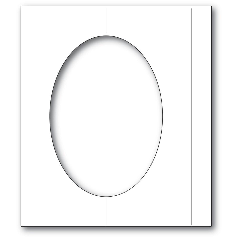 Poppystamps Oval Fold Frame 2359
