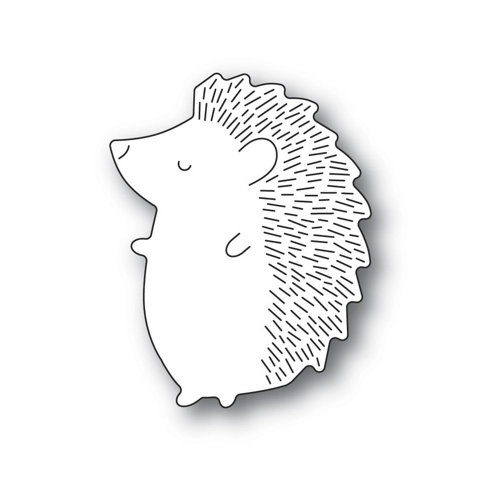 Poppystamps Big Hedgehog Left 2381