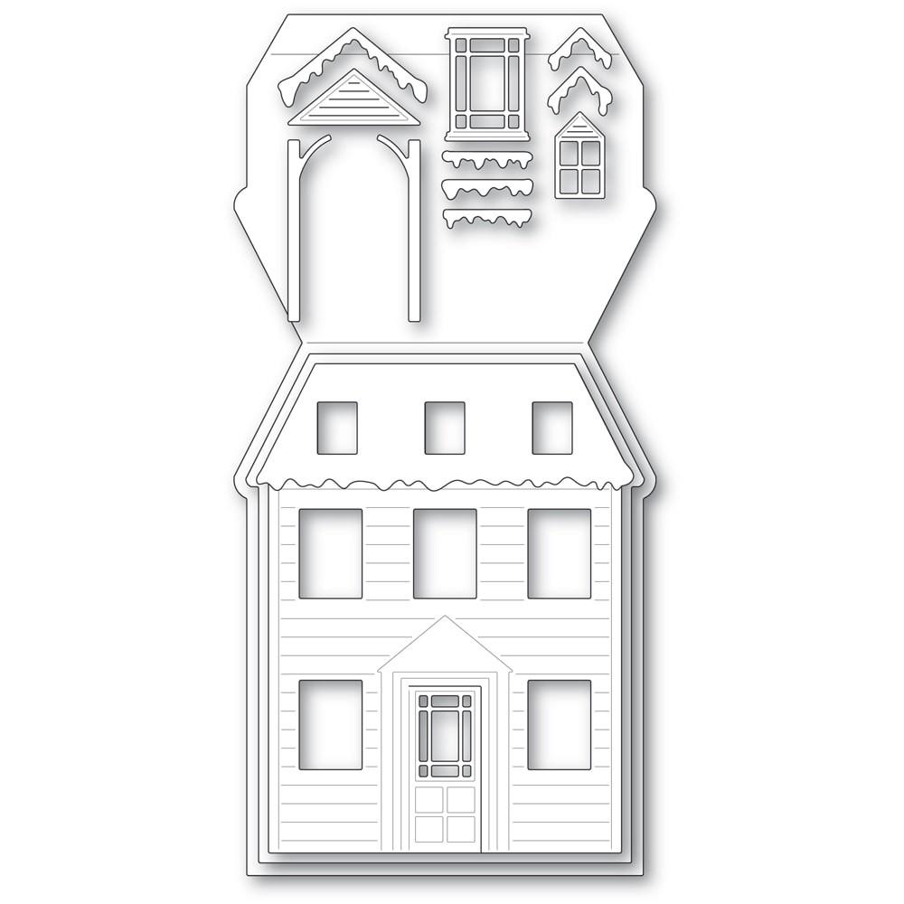 Poppystamps Winter House Pop Up Easel Set 2394