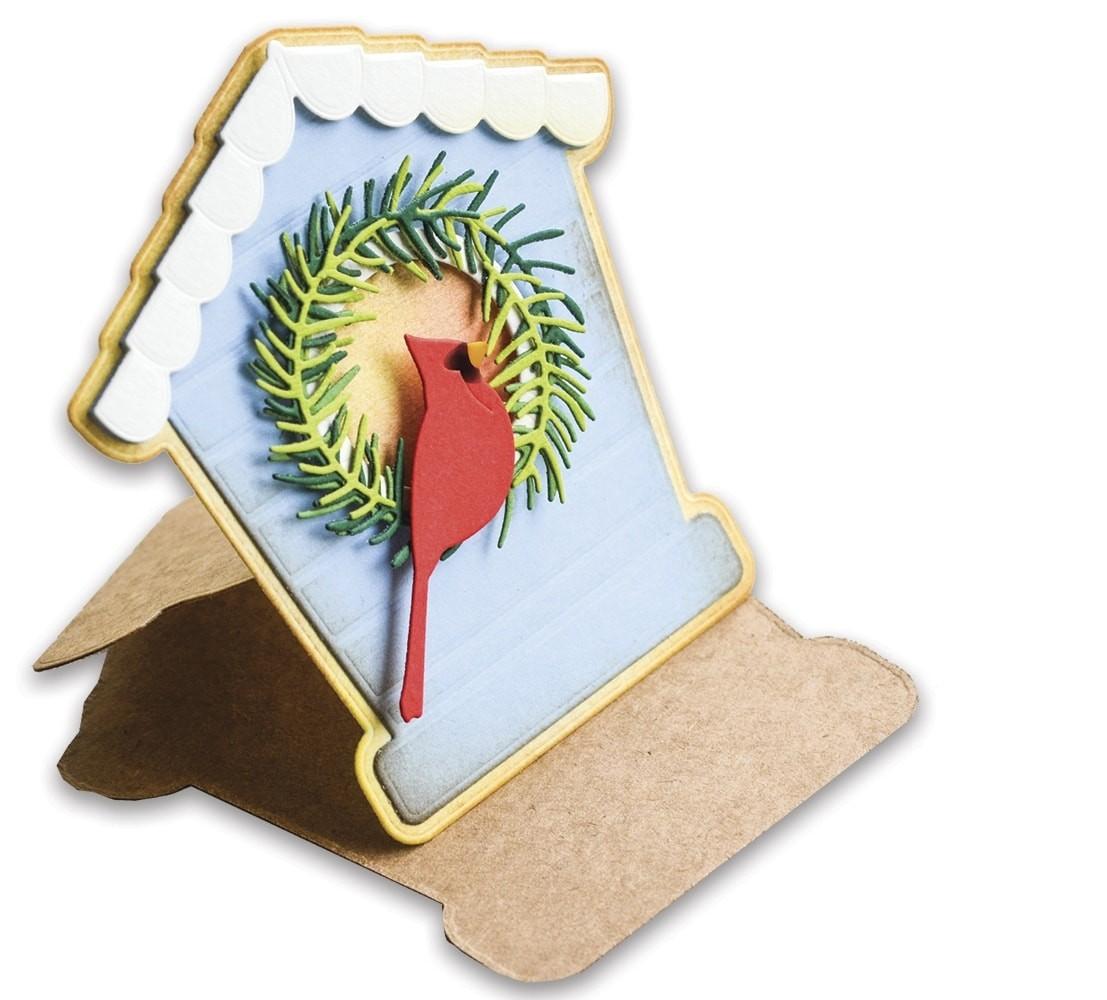 Poppystamps Bird House Pop Up Easel Set 2396