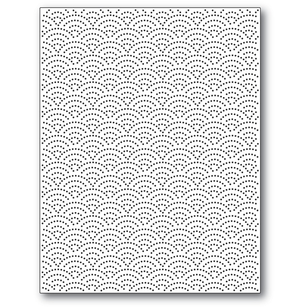 Poppystamps Pinpoint Half Ring Plate 2404