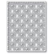 poppystamps Gilded Plate 2412