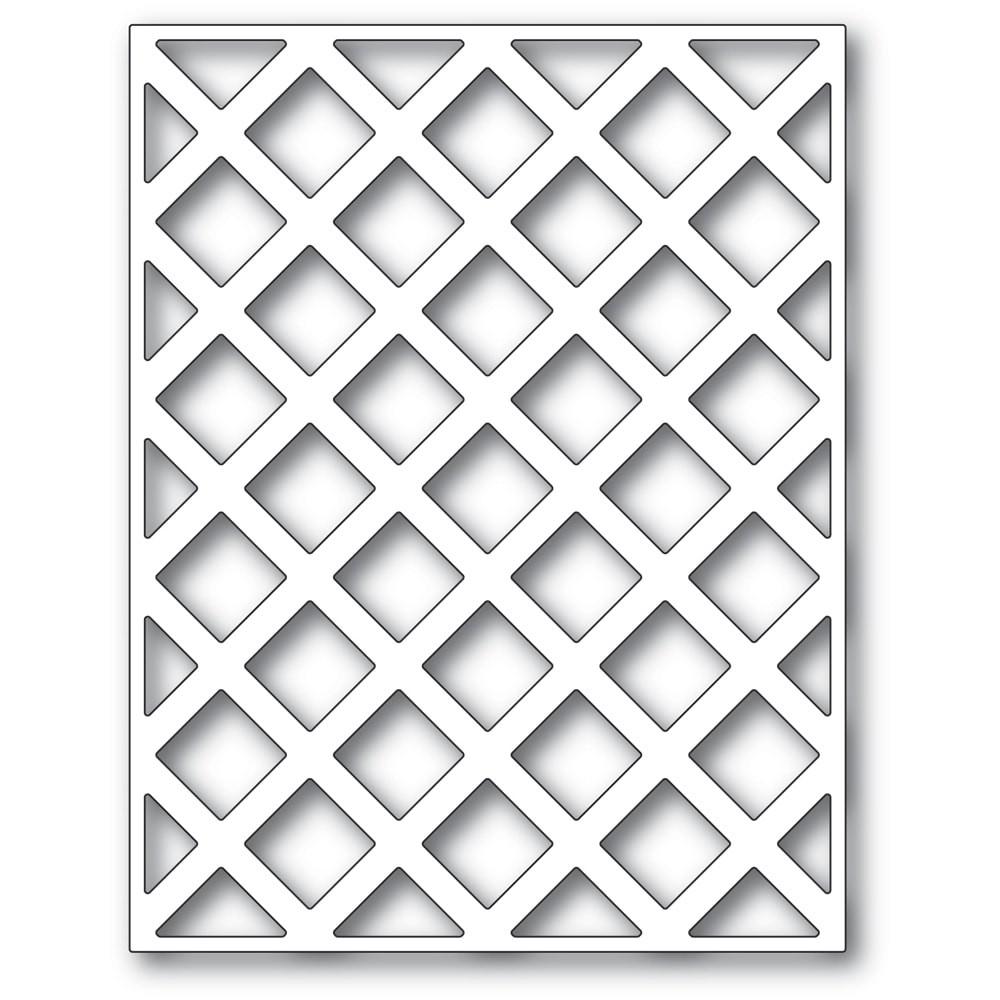 Poppystamps Lattice Plate 2427