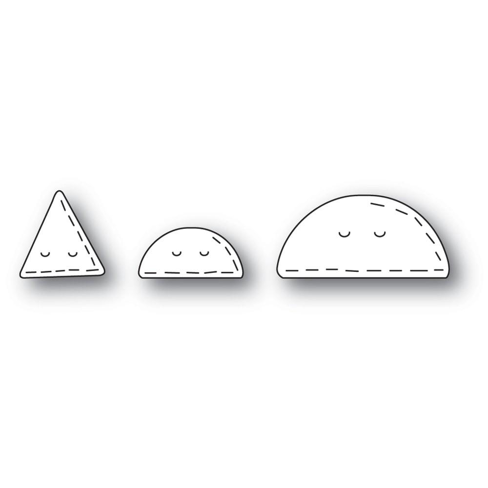 Poppystamps Whittle Taco and Nacho 2448