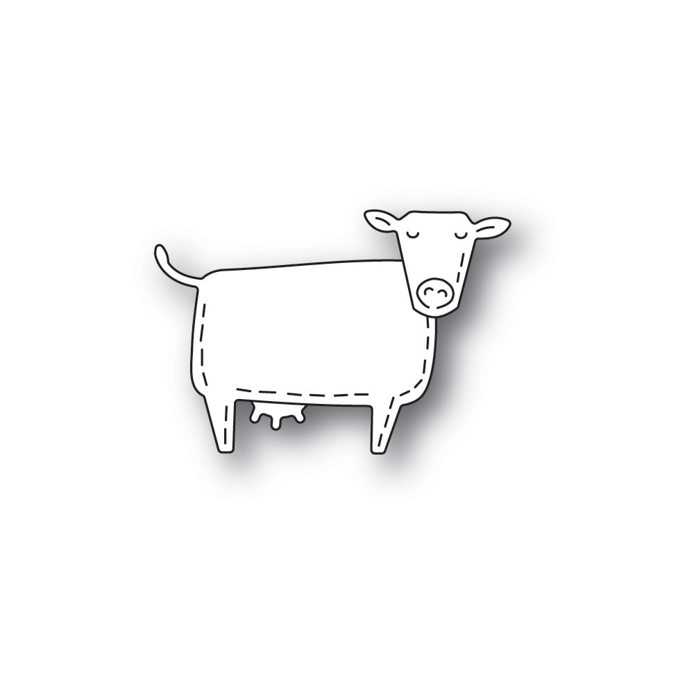 Poppystamps Whittle Cow 2449