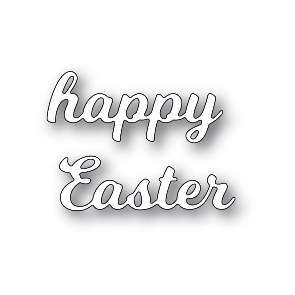 Poppystamps Splendid Happy Easter 2462