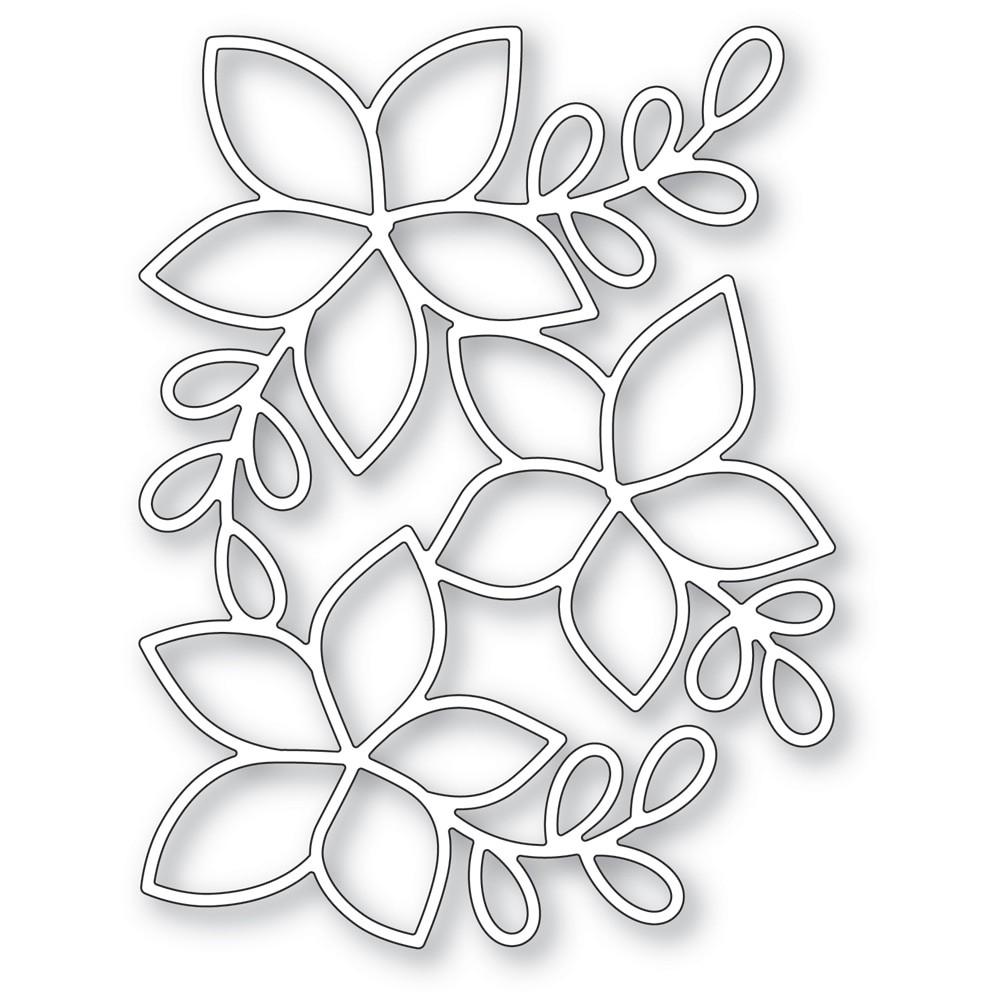 poppystamps Poinsettia Background 2480