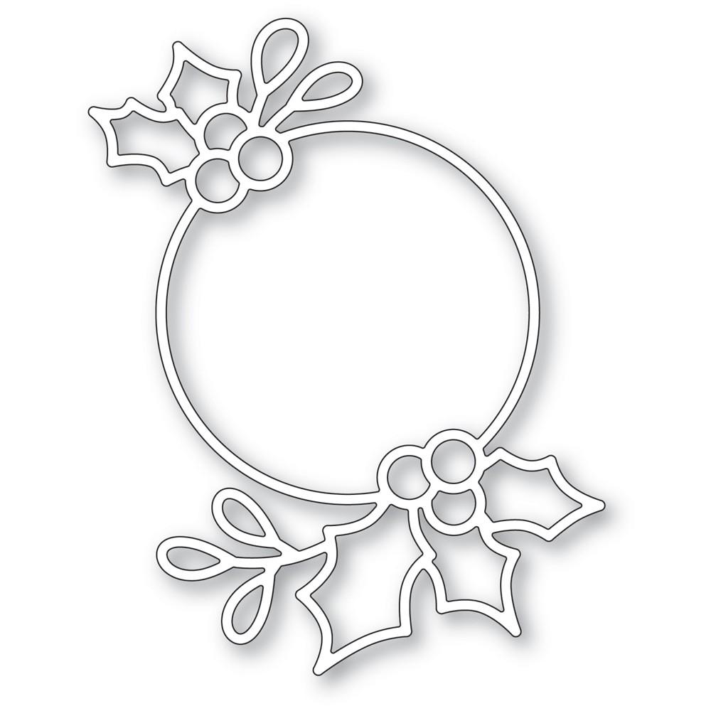 poppystamps Holly Ring2487