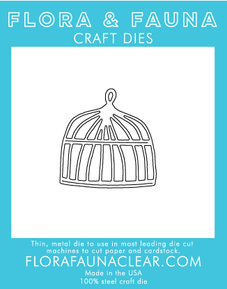 SALE - Flora and Fauna bird cage die