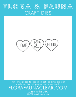Flora and Fauna Love Hearts Die 30079