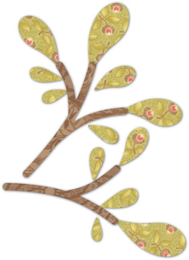 Swooping Branches & Leaves Deep Edge Die 30107
