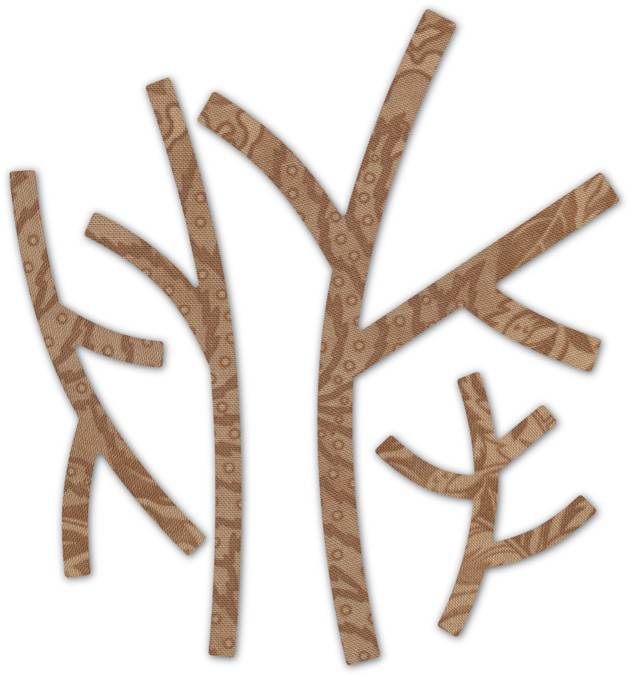 Basic Forest Branches Deep Edge Dies 30110 - SALE