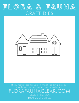Flora and Fauna Row of Houses Die 30129