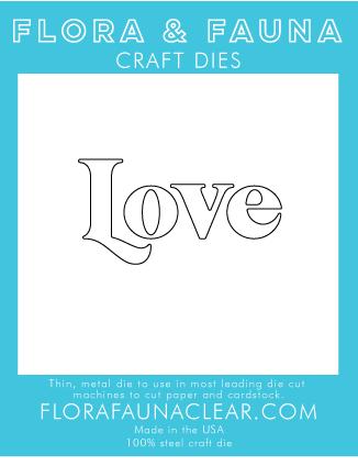 Flora and Fauna Love Die 30228