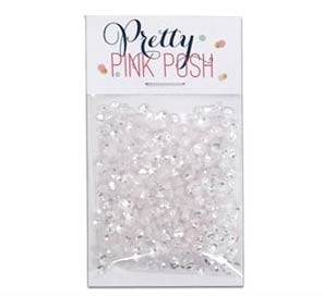 Pretty Pink Posh Clear Sequins - 3 mm