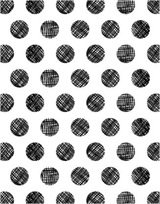 5193K - crosshatch dot background