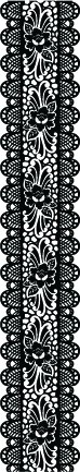 5238G - lace flower border