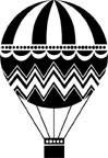 5344D - hot air balloon