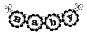 5376D - baby banner