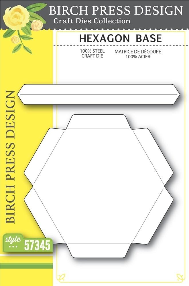 Birch Press Hexagon Base 57345