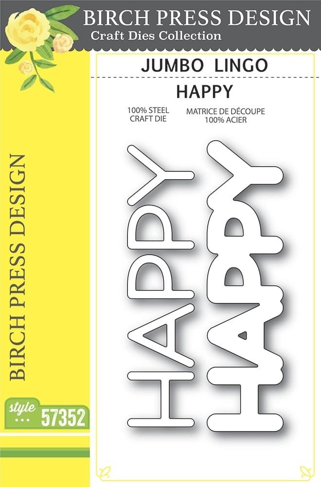 Birch Press Jumbo Lingo Happy 57352