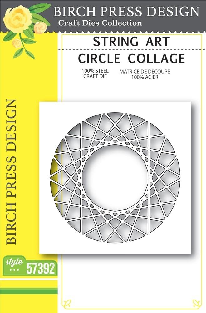 Birch Press String Art Circle Collage 57392