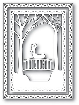 SALE - Memory Box Woodland Bridge Frame Dies 94039