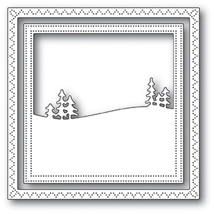 SALE - Memory Box Meadowtree Frame Die 94045