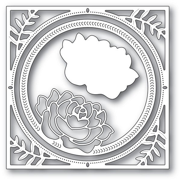 Memory Box Splendid Rose Frame 94229