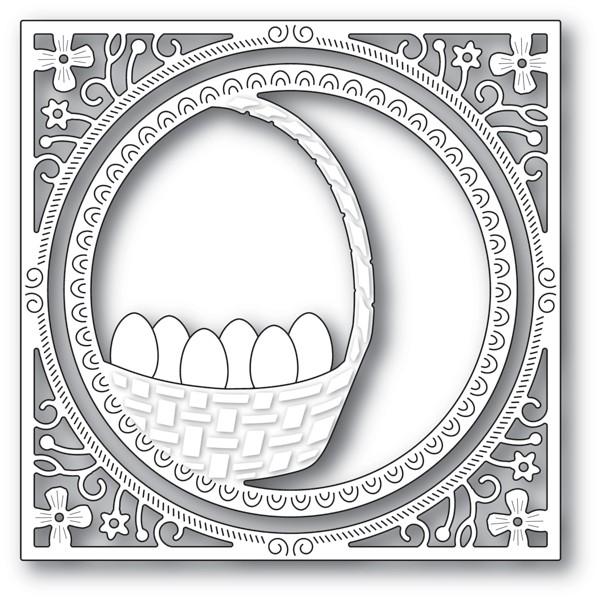 Memory Box Egg Basket Frame 94235