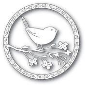 Memory Box Perched Bird Die 94244