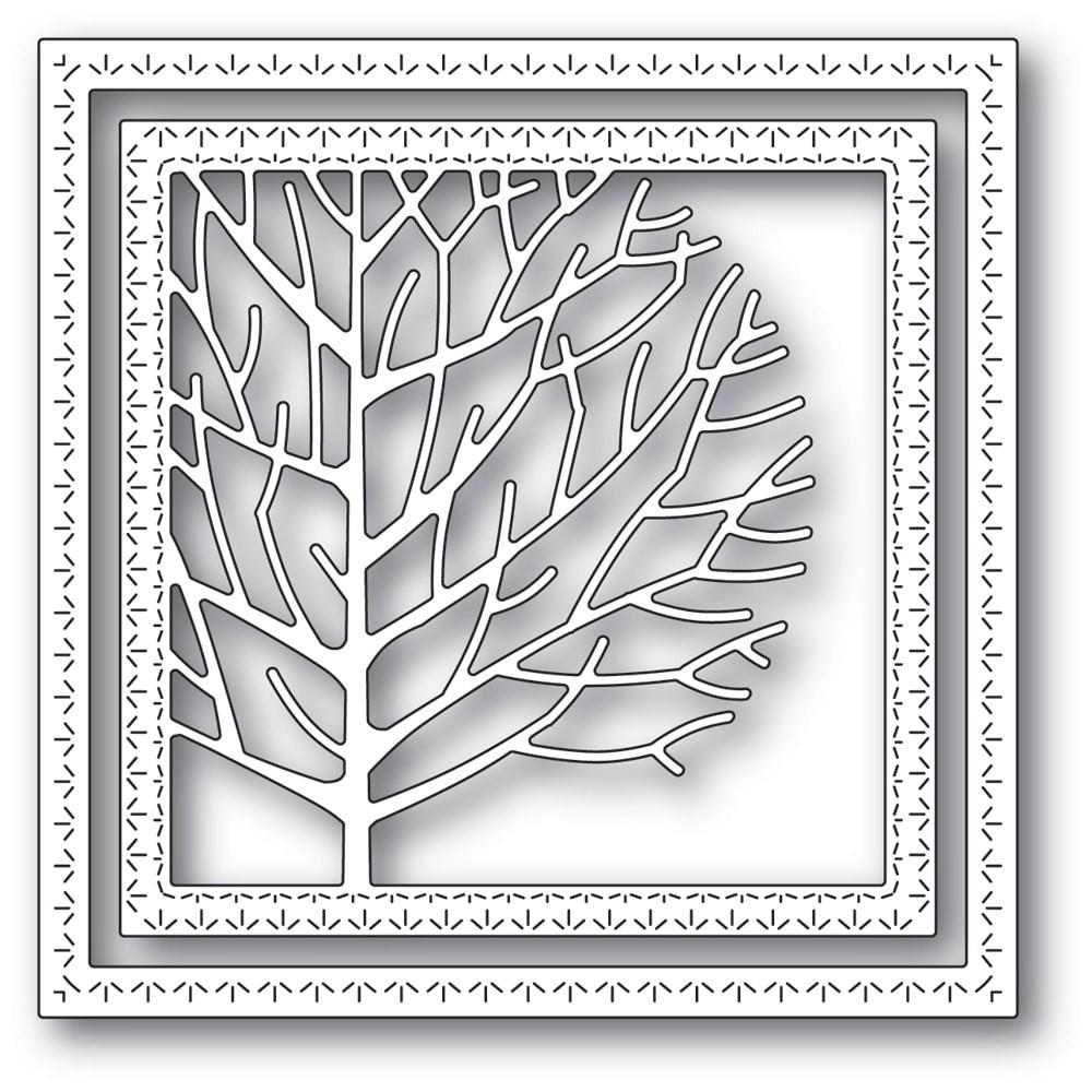 Memory Box Winter Tree Frame Die 94303