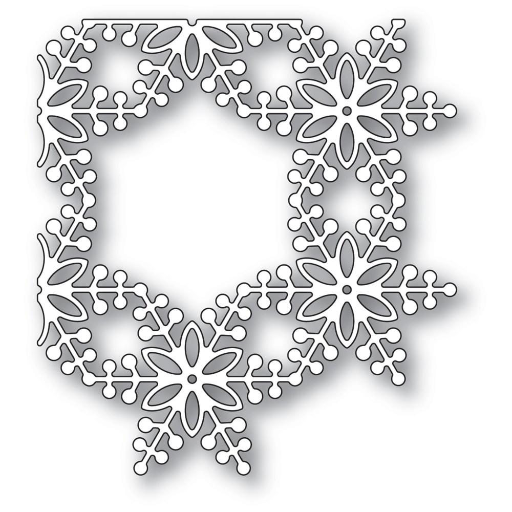 SALE - Memory Box Bauble Snowflake Corner 94336