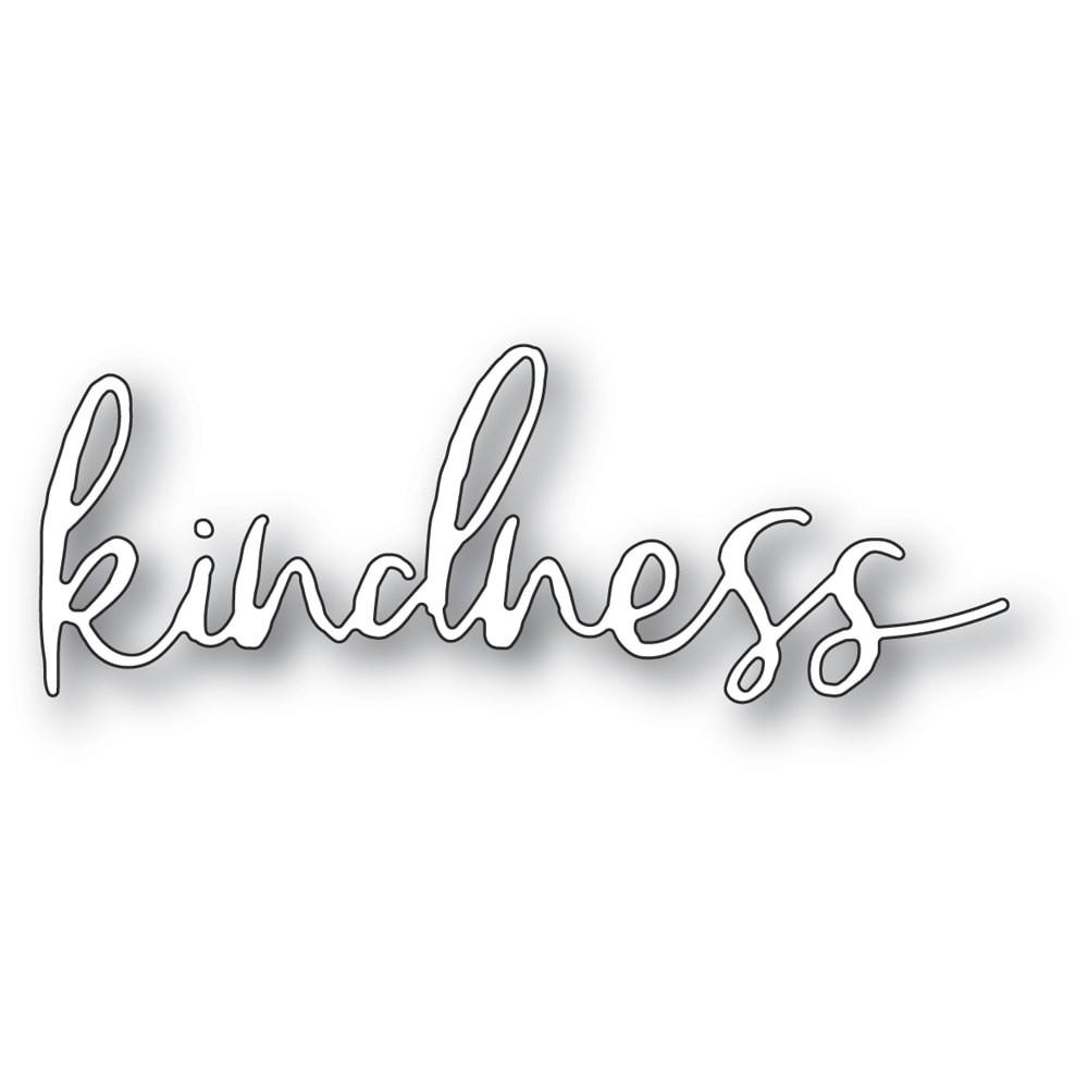Memory Box Kindness Cursive Script 94391