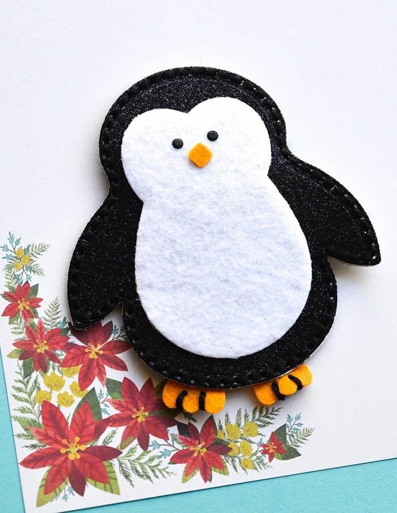Memory Box  Plush Big Penguin 94403