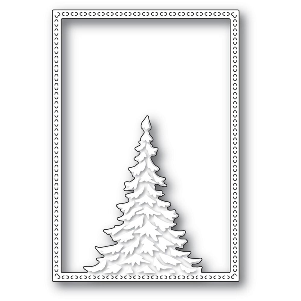 Memory Box Single Pine Tree Frame 94479
