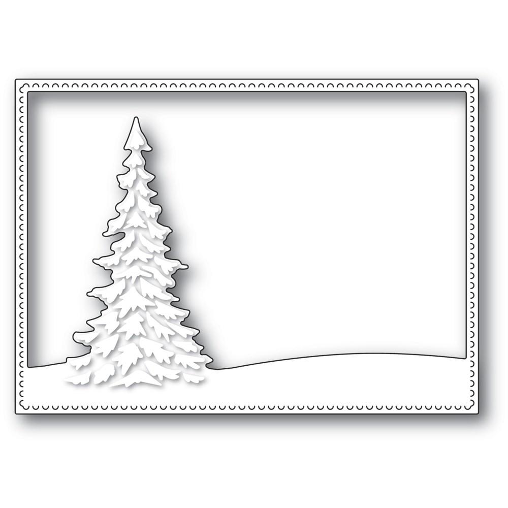 Memory Box Single Pine Landscape Frame 94480