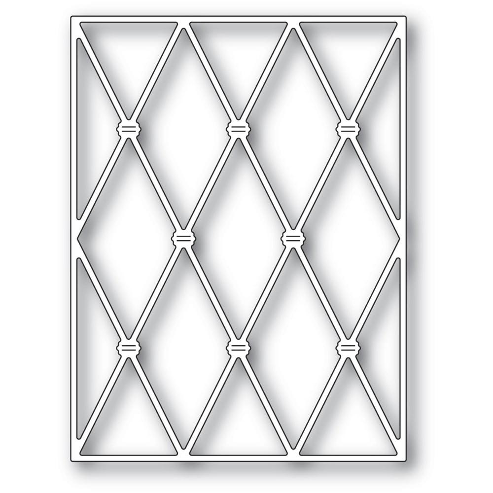 Memory Box Knotted Diamond Background 94488
