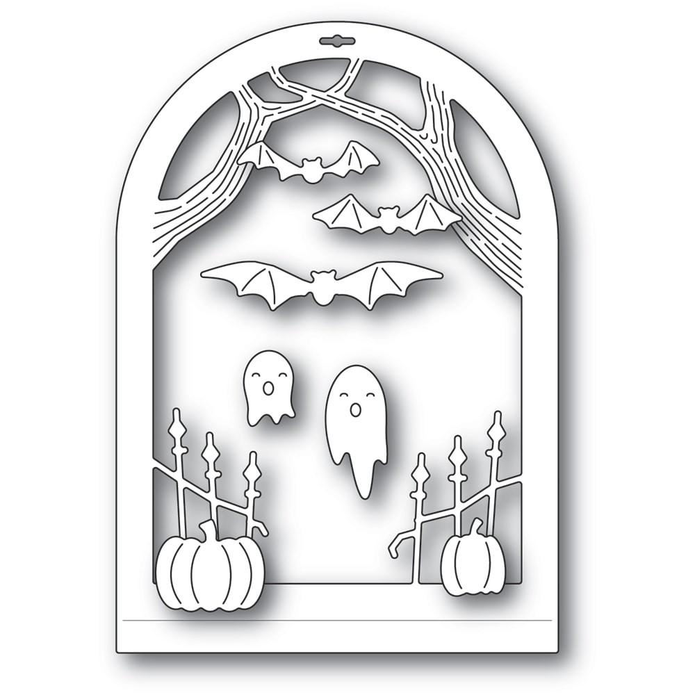 Memory Box Haunted Entrance Dome Layer 94507