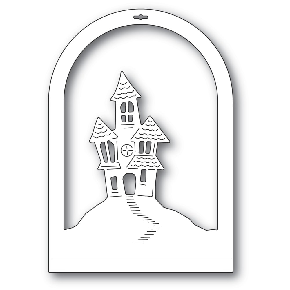 Memory Box Haunted House Dome Layer 94508
