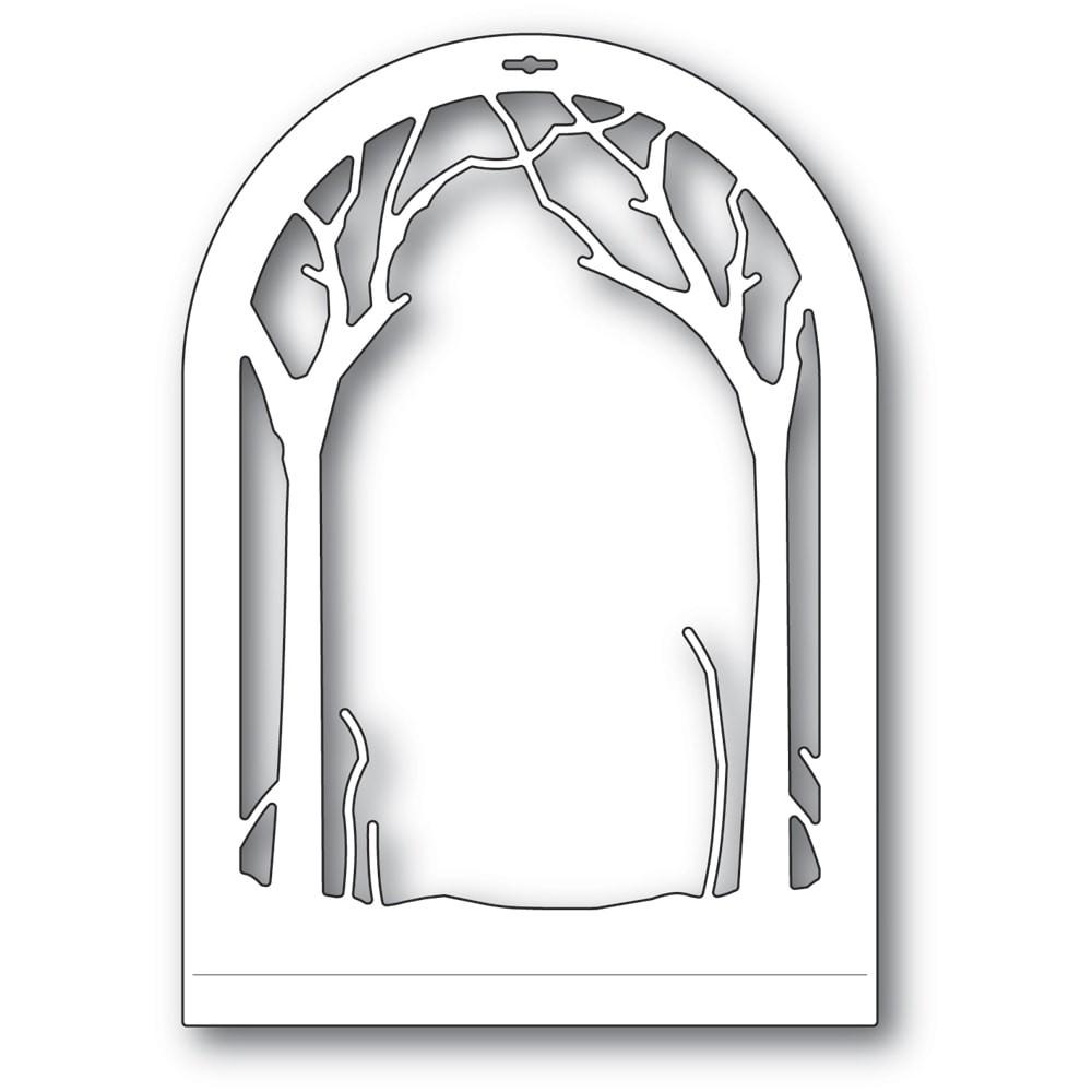 Memory Box Winter Wood Dome Layer 94509