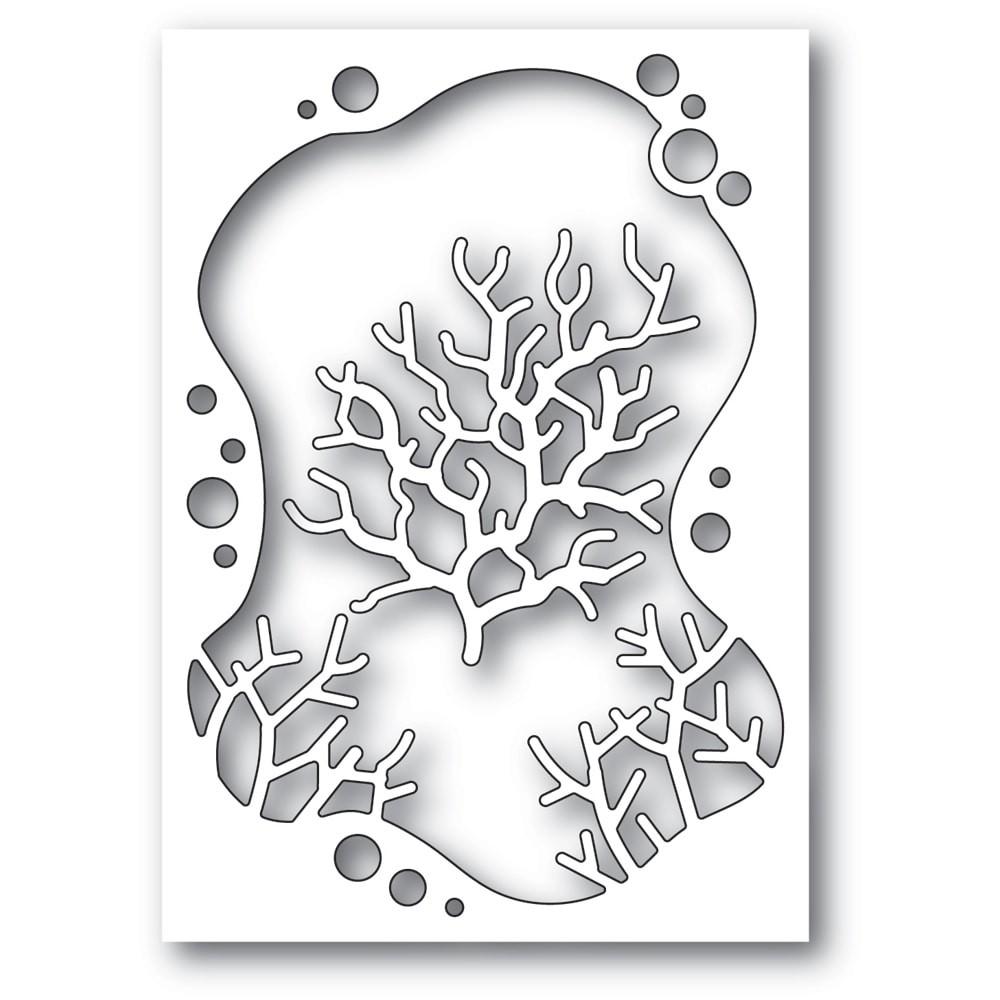 Memory Box Bubble Coral Collage 94562