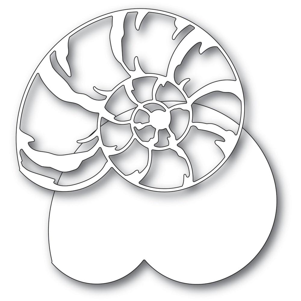 Memory Box Grand Spiral Shell 94567