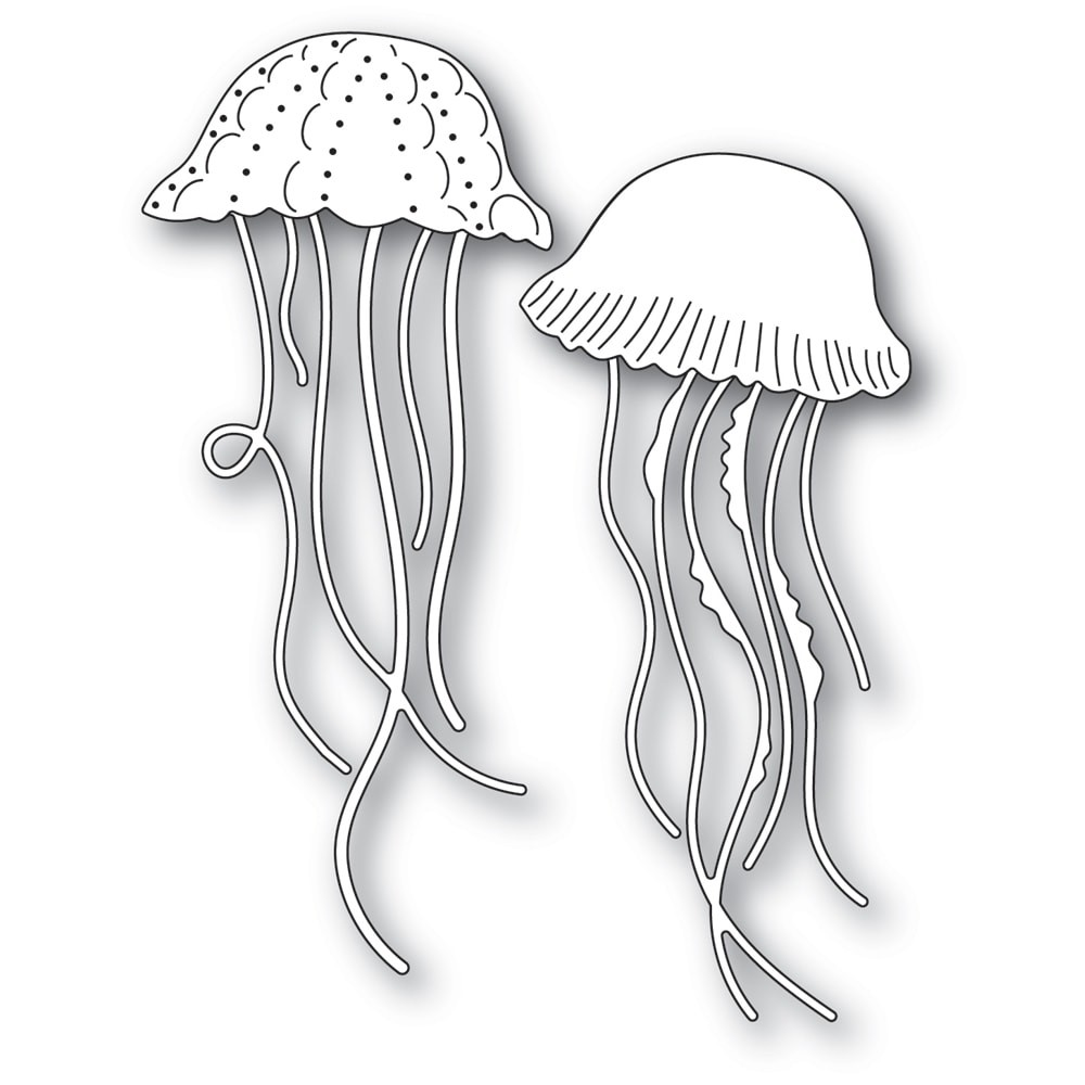 Memory Box Graceful Jellyfish 94574
