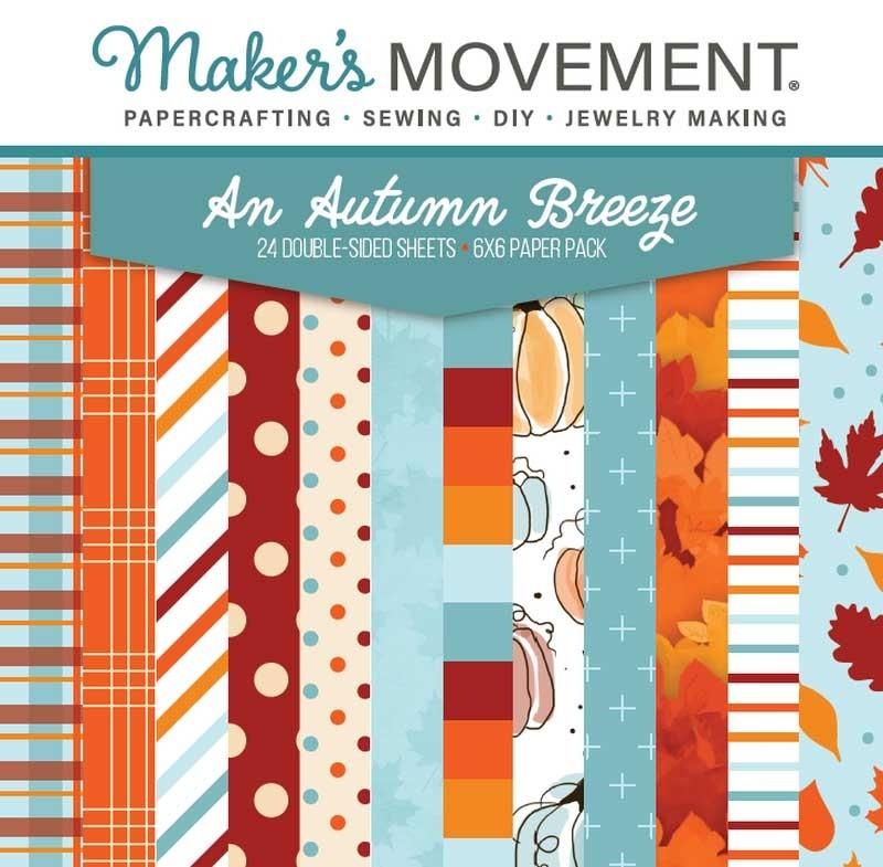 An Autumn Breeze 6x6 paper pack