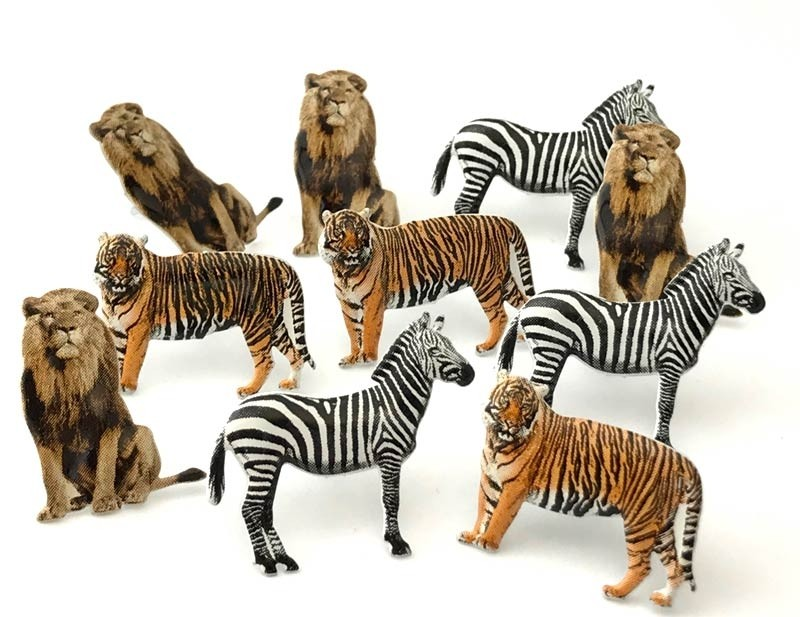 Wild Animal Brads