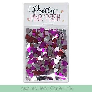 Assorted Heart Confetti