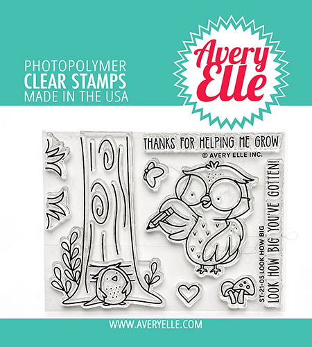 Avery Elle Look How Big Clear Stamps